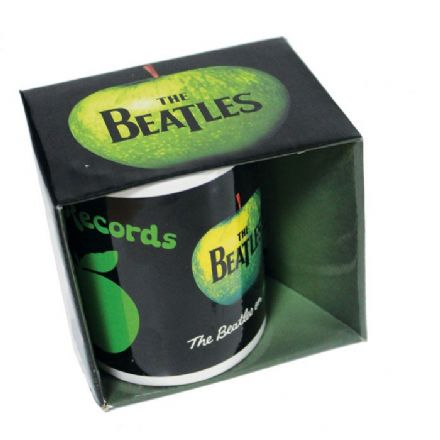 The Beatles 'on apple' Boxes Mug